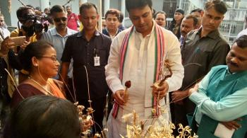 Honorable Chief Minister, Govt. of Tripura visited FRCLE, Agartala